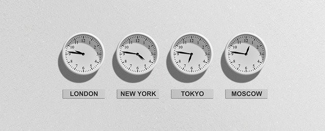 What About Work From Home Jobs? - Clocks from around the world